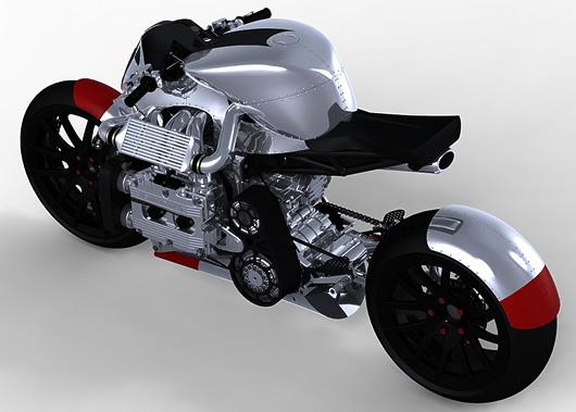 kickboxer motor cycle - motor keren dan macho