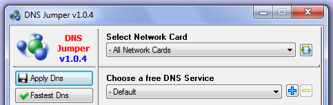 software DNS changer
