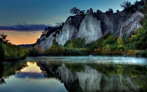 danau yang indah