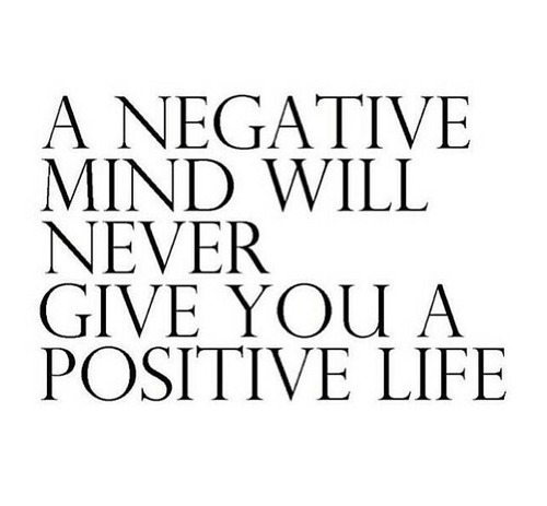 Negative and Positive Life