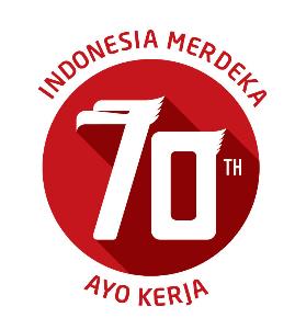 Logo HUT RI 70