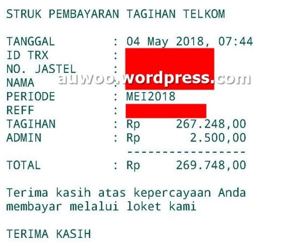 tagihan indihome mei 2018
