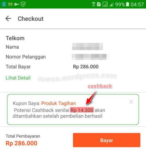 cashback telkom indihome tokopedia